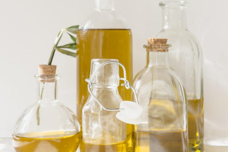 vari tipi di olio
